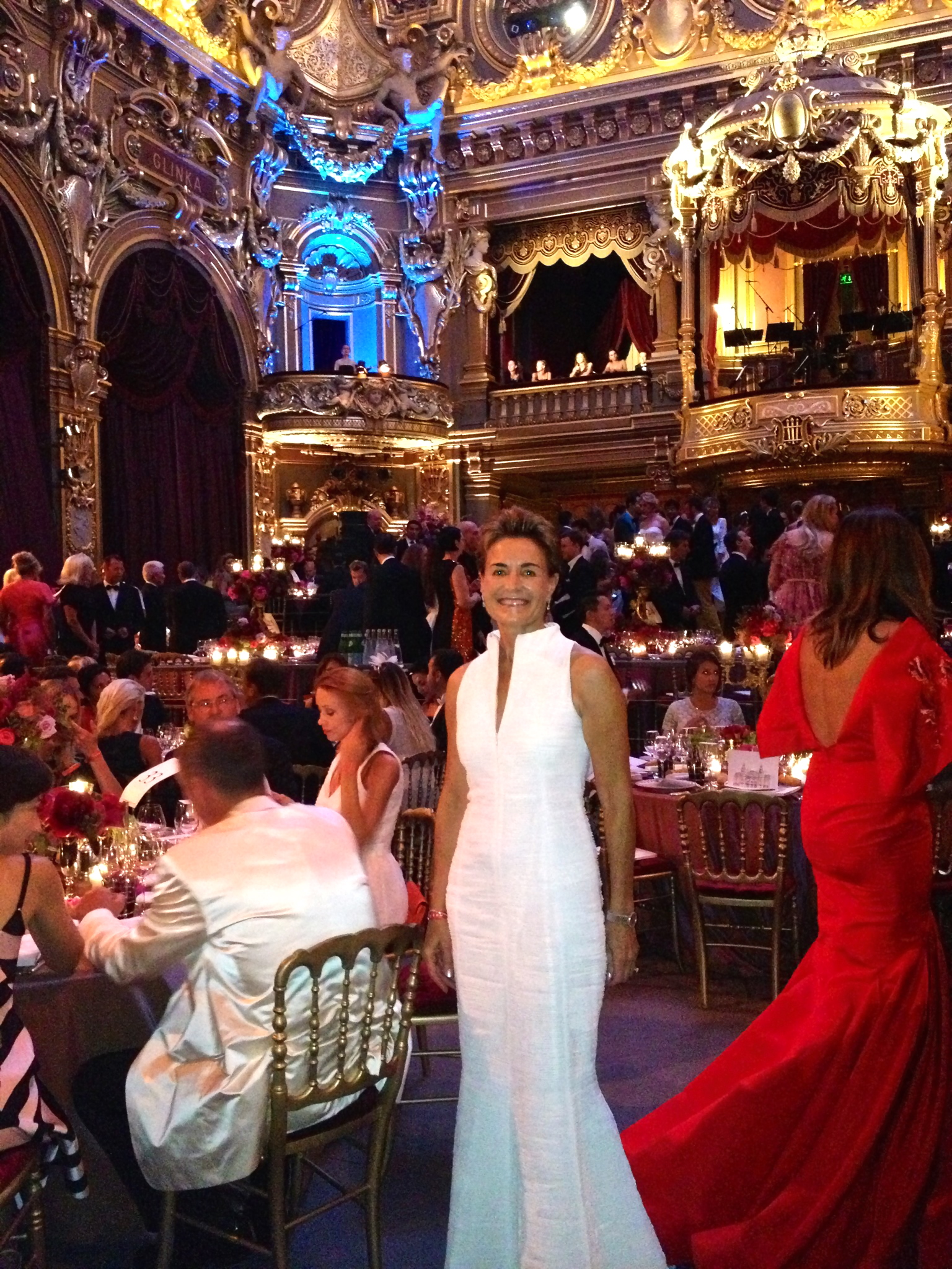 At The Charity Love Ball In Monaco Organized By Natalia