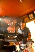 Marco reviewing the shots with cameramen @CelinaLafuenteDeLavotha 2013
