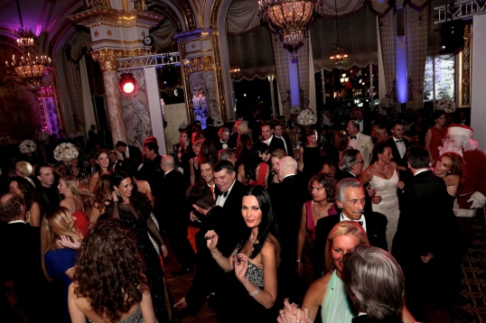2013 Christmas Ball, Hotel de Paris, Guests danced all night long!