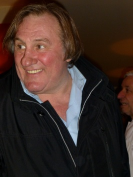 Gerard Depardieu at La Cigale Recamier
