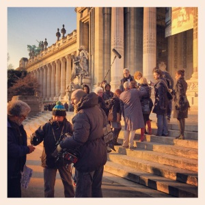 Shooting Grand Palais Dec.13 by Julian Lennon