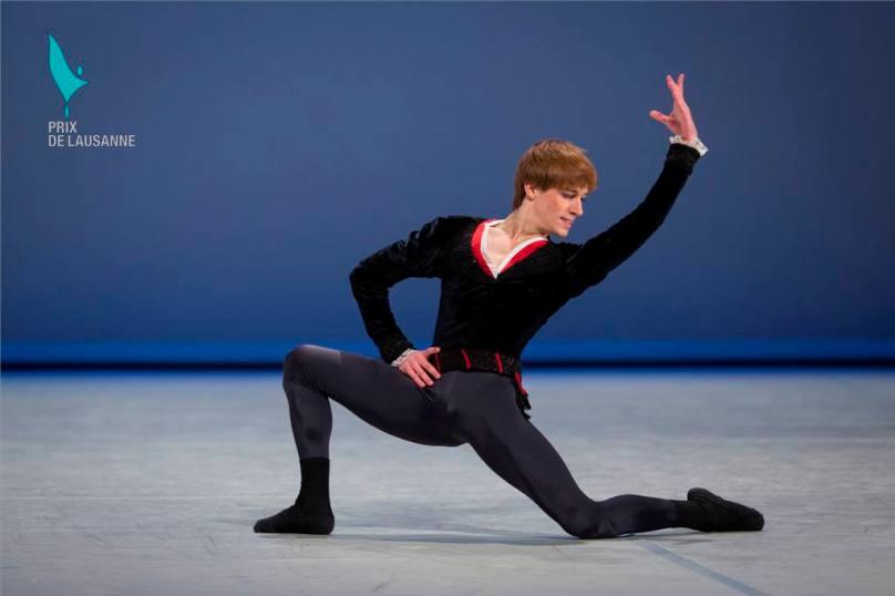 February 2014 - David Navarro Yudes form the Academy of Dance Princess Grace awarded the Lausanne Prize @Gregory Batardon