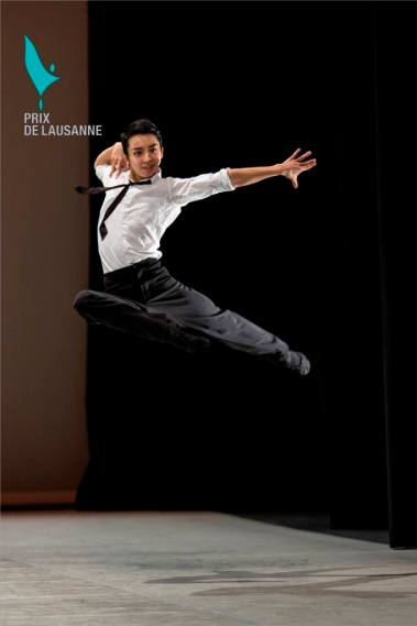 February 2014 - Mikio Kato from the Academy of Dance Princess Grace awarded the Prize of Lausanne