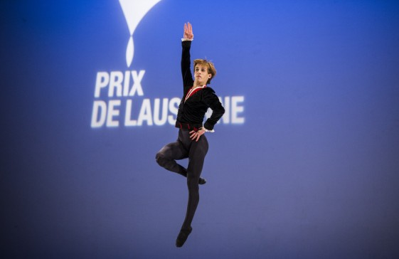 February 2014 - David Navarro Yudes form the Academy of Dance Princess Grace awarded the Lausanne Prize