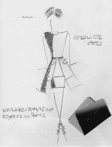 Cassini 02 dress design