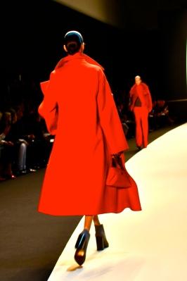 Diana Moldova - Tinting reversible coat tunic and skirt - Small Ai pochette in cervo ((18)