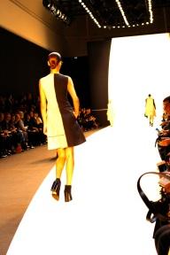 Marine Deleeuw - Black/shore cheviot tunic dress pathwork cassini 02 Mini Ai pochette in cheviot (1)