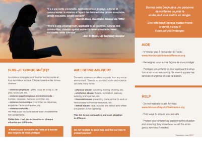 Stop domestic Violence brochure Page 2
