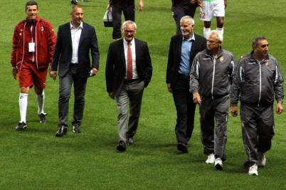 Claudio Ranieri and Francis Gillot