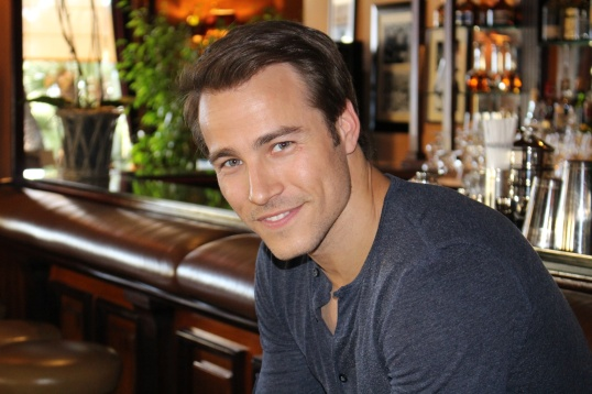 Karl E. Landler at the American Bar at the Hotel de Paris in Monaco, May 9, 2014 @CelinaLafuentedeLavotha