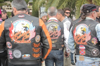 The Harley Davidson club members