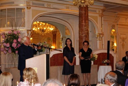 Yves Piaget, Princess Caroline and Sylvia Pastor