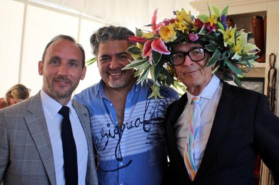 Enrico Roselli, Marcos Marin, David Shilling @CelinaLafuenteDeLavotha2014