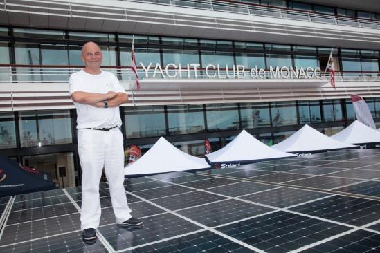 Gerard d'Aboville, Captain of Planet Solar@Franck Terlin