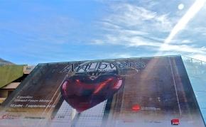 Giant poster outside Grimaldi Forum @CelinaLafuenteDeLavotha