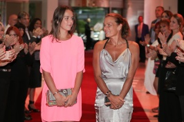 Pauline Ducruet and Princess Stephanie @Frederic Nebinger