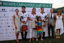 2nd The Cartier team was on 2nd place @CelinaLafuenteDeLavotha2014
