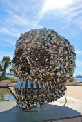 Very Hungry God by Indian artist Subodh Gupta @CelinaLafuenteDeLavotha
