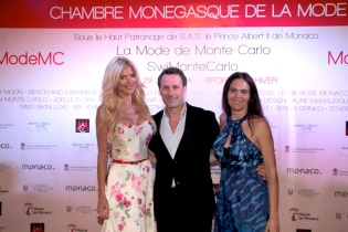 Victoria Silvstedt, Claudio Lemmi and Federica Nardoni Spinetta @CMM