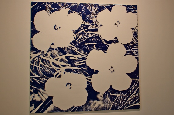 Warhol Flowers (1990) by Sturtevant @CelinaLafuenteDeLavotha