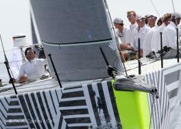 2014 - TP52 design with crew @A.Carloni