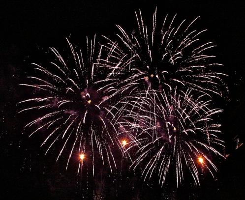Fireworks Red Cross Ball @CelinaLafuenteDeLavotha