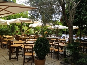 Late afternoon at La Colombe d'Or