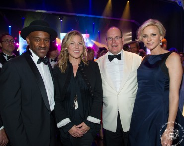 Marcus Miller, Diane Krall, HSH Prince Albert and HSH Princess Charlene @Palais Princier Monaco