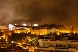 The Prince's Palace under the spell of the fireworks @CelinaLafuenteDeLavotha
