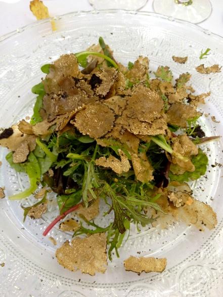 Truffle salad @CelinaLafuenteDeLavotha