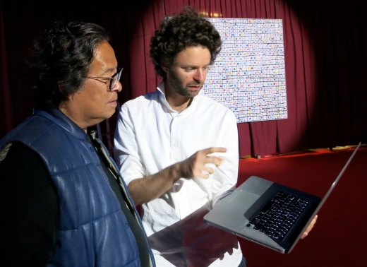 Benjamin Shine meets Chinese collector Victor Hwang @CelinaLafuenteDeLavotha