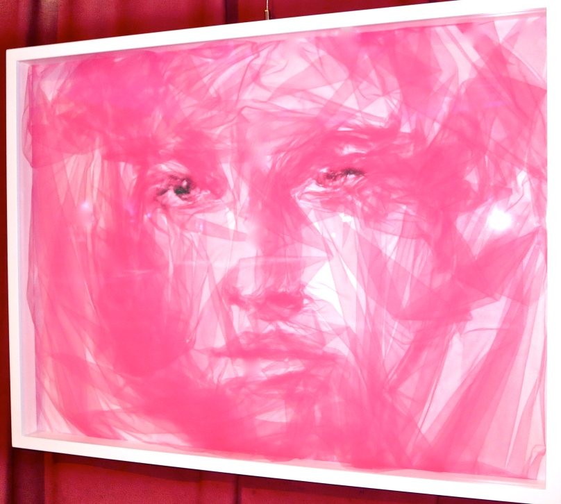 Benjamin Shine - Portrait in pink tulle @CelinaLafuenteDeLavotha