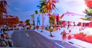 Pharell Williams and Oppenheim Architecture + Design, Ice Cream City View of Retail @CelinaLafuenteDeLavotha