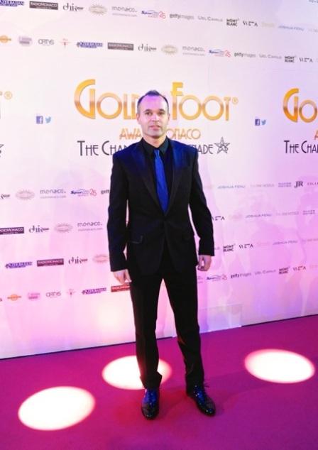 Andres Iniesta @GoldenFoot2014
