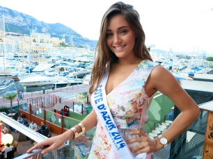 Charlotte Pirroni Miss Cote D'Azur 2014 competing for Miss France @CelinaLafuenteDeLavotha