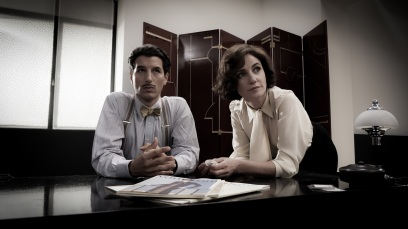 Francesco Scianna and Orla Brady in Price Of Desire as Jean Badovici and Eileen Gray @Julian Lennon