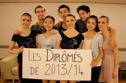 The graduates of the Academy of Dance Princess Grace
