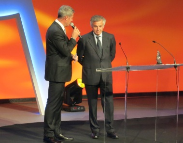 Juan Antonio Samaranch at Golden Podium Awards @CelinaLafuenteDeLavotha