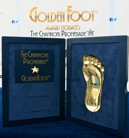 The Golden Foot award @CelinaLafuenteDeLavotha