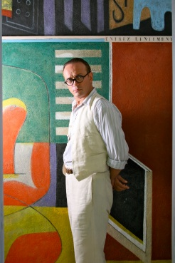 Vincent Perez as Le Corbusier in the film The Price of Desire