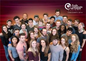 2014 Graduates - Ecole Nationale de Cirque de Montreal, Canada