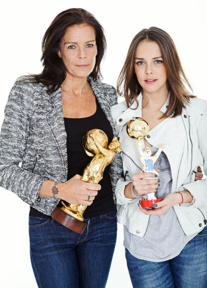 Princess Stephanie of Monaco and her daughter Pauline @Federic Nebinger