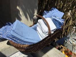 Table cloths and napkins @CelinaLafuenteDeLavotha