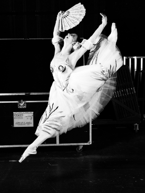 Bolchoi dancer in Swan Lake by Vincent Perez