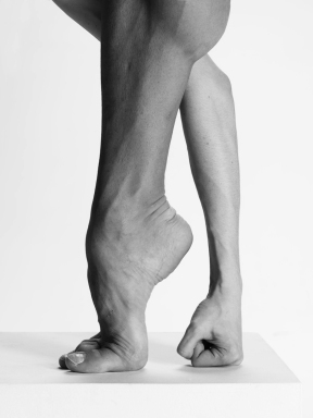 Bolchoi dancer's foot and forearm by Vincent Perez
