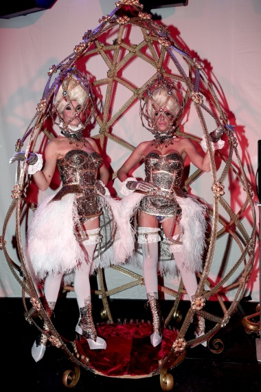 The Faberge Egg dance show