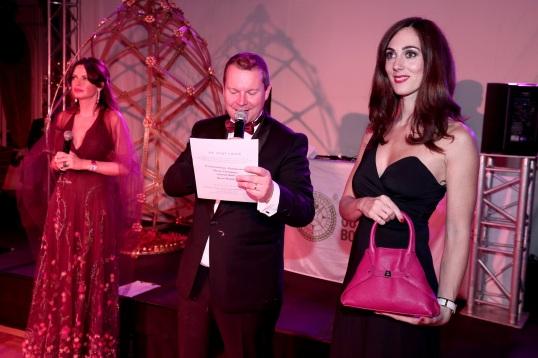 "Leathr bag ""Ai"" donated by the boutique AKRIS in Monaco"