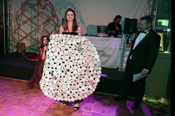 Carpet donated by Fashion for Floors Monaco