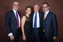 Patrick Schaeffer, Celina Lafuente de Lavotha, Zsolt Lavotha and Michel Merkt