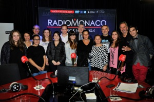 La Princesse Stéphanie fête les 10 ans de son association Fight Aids à Radio Monaco